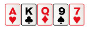 Carta alta en poker virtual